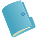 Document Folder_blue128